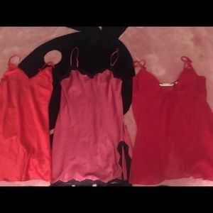 Victoria Secrets Lingerie  lot of 3